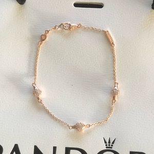 e3e3a4aec Pandora Jewelry | Disney Heart Of Mickey Safety Chain | Poshmark